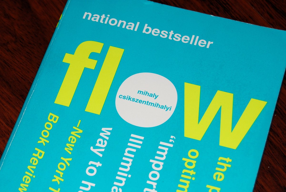 "Important Concepts From the Book ""FLOW"" by Mihaly Csikszentmihalyi (part 1)"