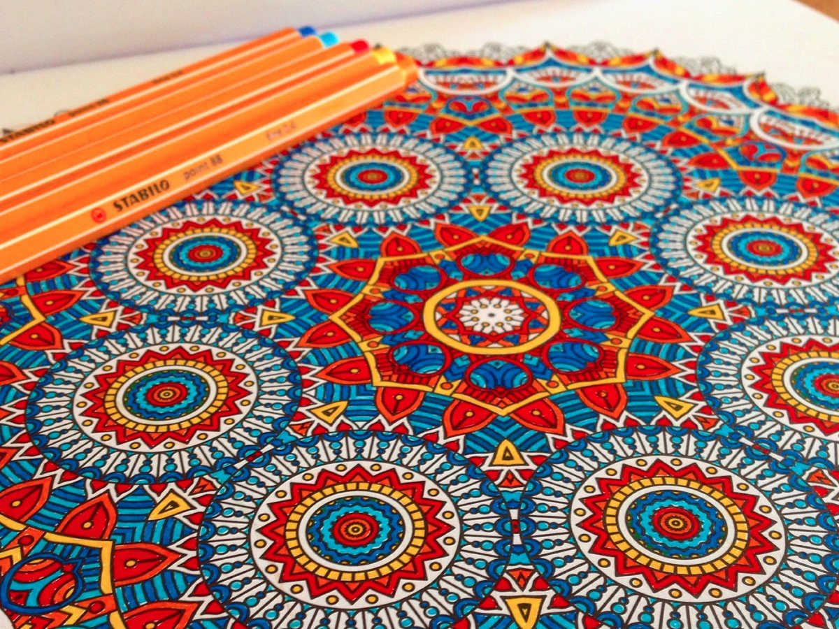 Coloring books to destress - Color Book Stress Coloring Helps Stress