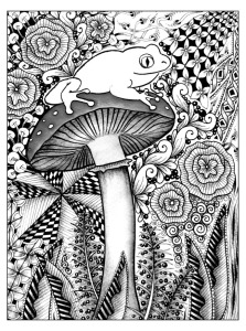 adult-coloring-pages-frog