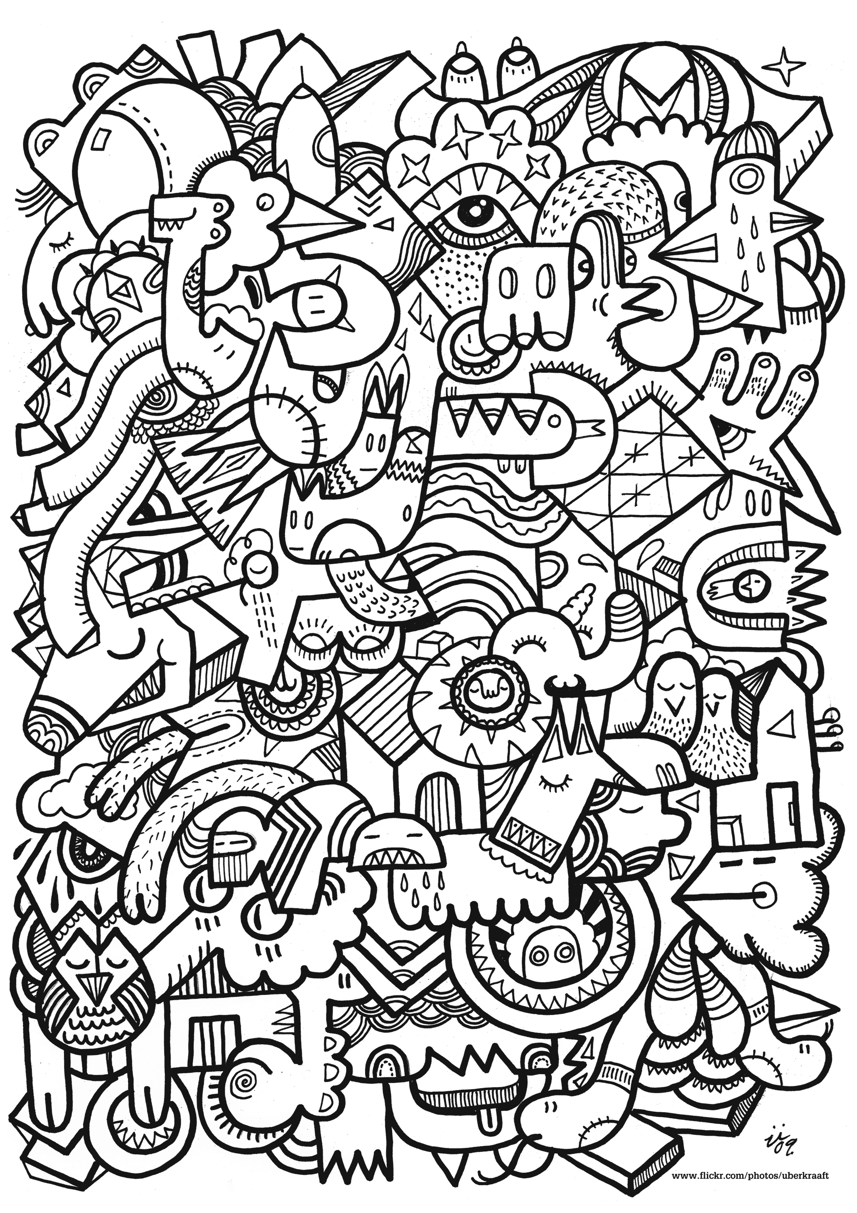 Coloring pages to print designs -  Free Coloring Pages For Adults Printable Hard To