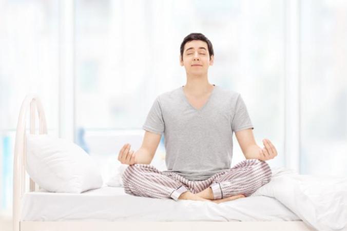 [man meditating]