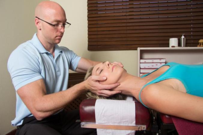 [Chiropractic manipulation procedure]