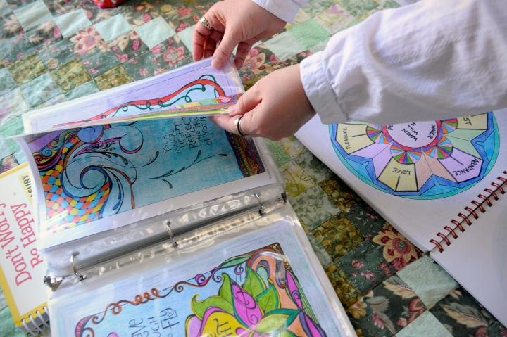 Here's how to get into the coloring habit — THE WISE MIND